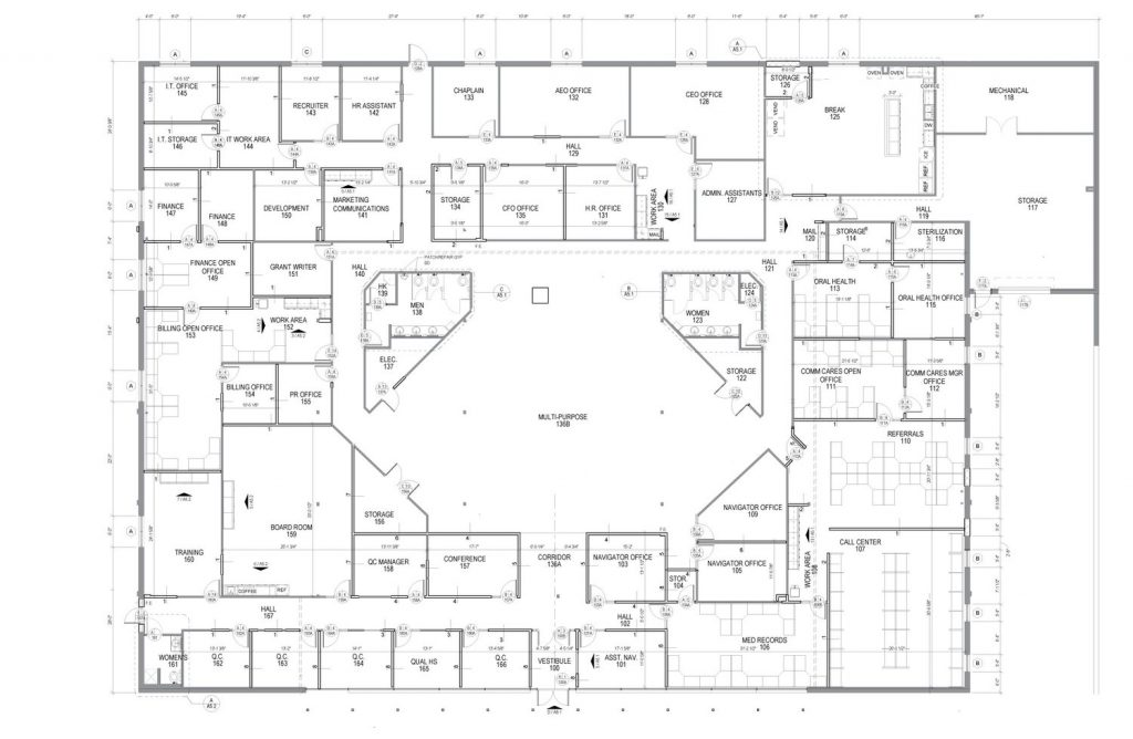 Administration Floor Plan