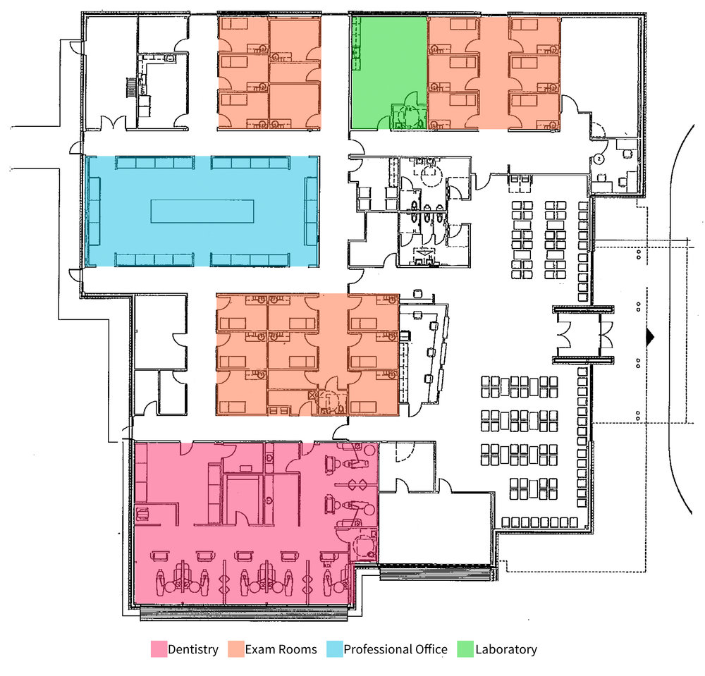 Ablah Family Clinic Floor Plan