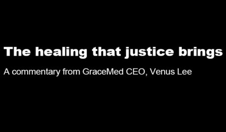The healing that justice brings