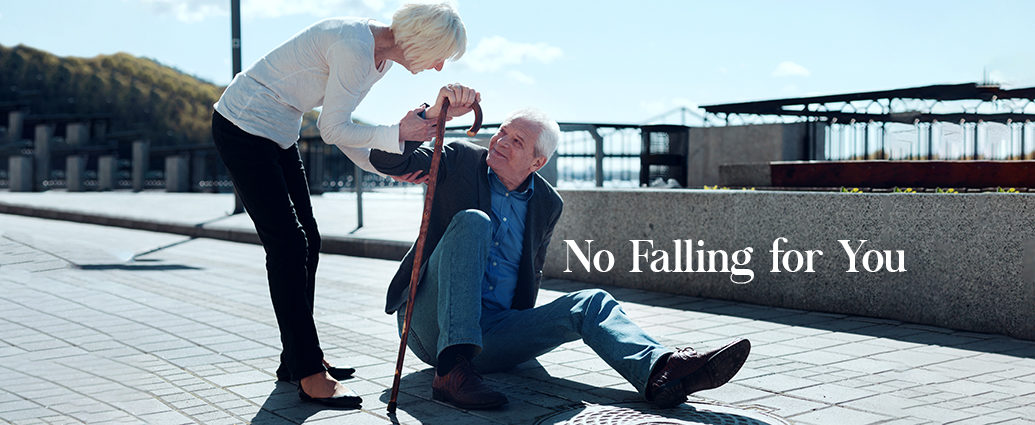 No Falling for You