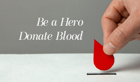 National Blood Donation Month