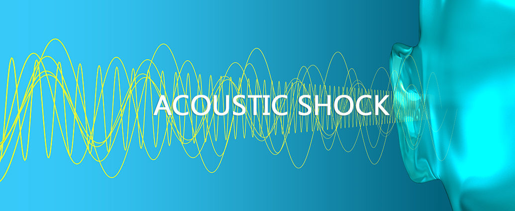 Acoustic shock of hearing loss